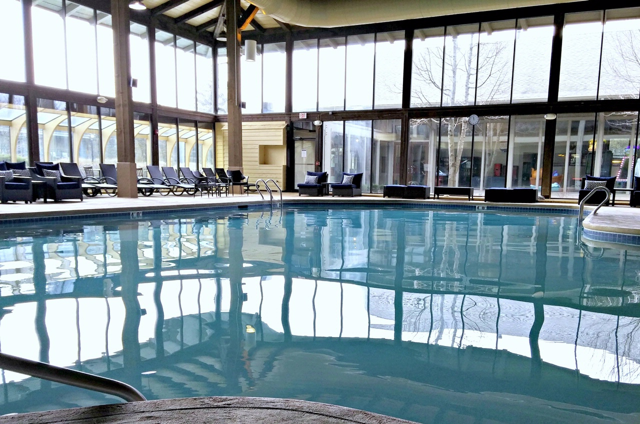 Resort amenities child care services the abbey resort for Indoor swimming pool building regulations