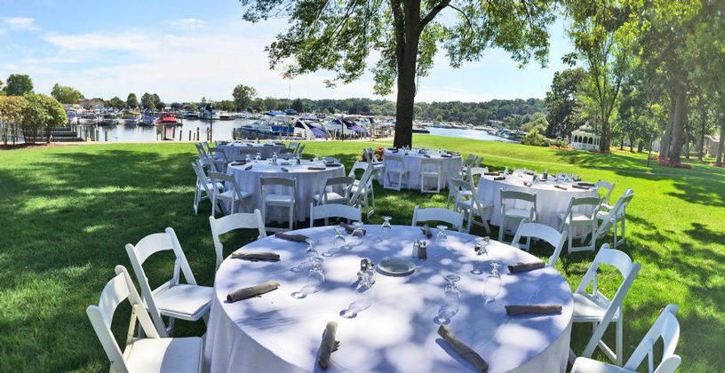 Abbey outdoor event venue